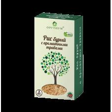 Рис бурый экологический с ароматными травами