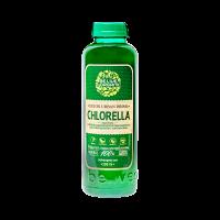 Бионапиток с живой микроводорослью хлорелла 0,5л