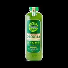 Бионапиток с живой микроводорослью хлорелла 1л