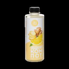 Напиток безалкогольный «GINGER КОМПОТ» с имбирём и лимоном