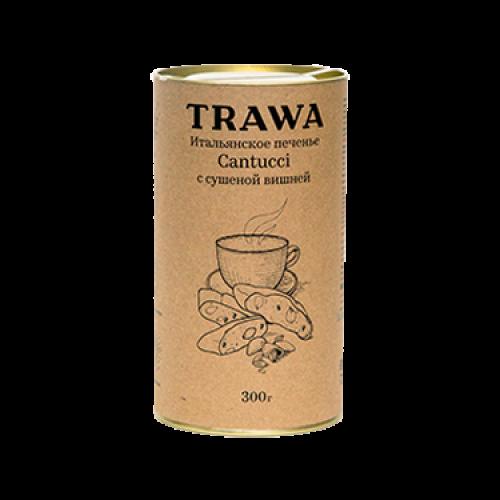 Итальянское печенье Кантуччи с сушеной вишней